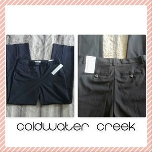 NWT Coldwater Creek Studio Pant Trousers